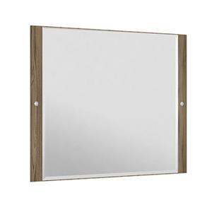 Espelheira Para Banheiro Sollo MDF Terracota/Branco S/Luminária 79X65X3Cm Contemporânea Darabas