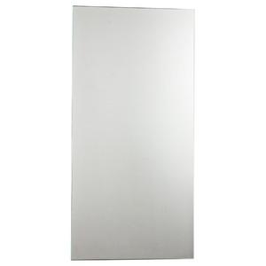 Espelheira Vidro Cristal Prata 250x100cm Kanon