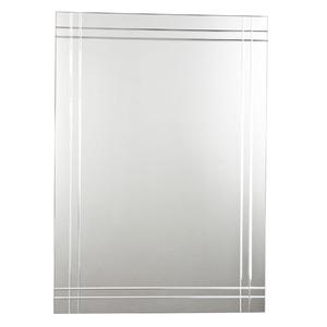 Espelho de banheiro retangular 50x70cm delicat sensea for Miroir 50 x 70 leroy merlin
