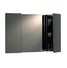 Espelheira Vidro Prata 49x73cm H.Chebli