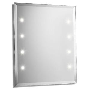 Espelheira Vidro Preto 60x50cm Expambox