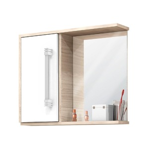 Espelheiras de Banheiro sem Luminária Branca 49X60X12 Centauri 60 Cerocha