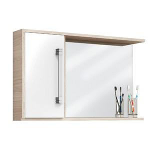 Espelheiras de Banheiro sem Luminária Branca 49X80X12 Centauri 60 Cerocha