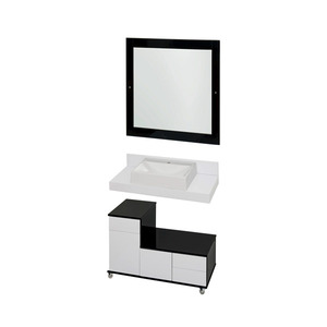 Espelho Arezzo com Moldura 80cm Darabas