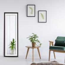 Espelho Bisotê Color Tabaco Wengu 43x124cm