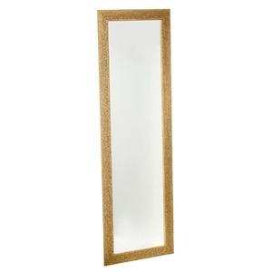 Espelho c/Moldura 30x110cm Marfim Euroquadros