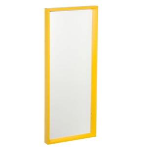 Espelho c/Moldura 30x75cm Amarelo Euroquadros