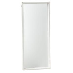 Espelho c/Moldura 30x75cm Branco Euroquadros
