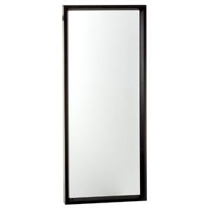 Espelho c/Moldura 30x75cm Preto Euroquadros