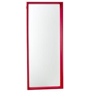 Espelho c/Moldura 30x75cm Vermelho Euroquadros