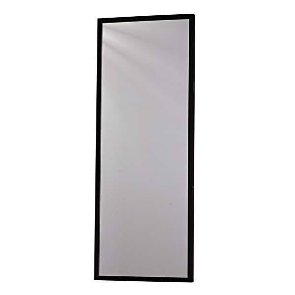 Espelho retangular basic com moldura preta 44x114cm - Molduras leroy merlin ...