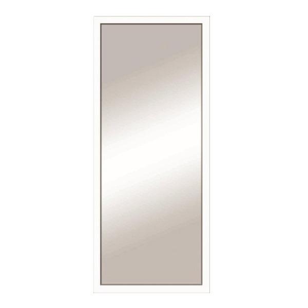 Espelho decorativo cl ssico com moldura branca 34x44 5cm - Leroy merlin molduras pared ...