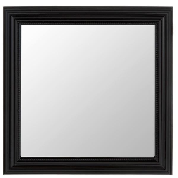 Espelho quadrado proven al com moldura preta 40x40cm - Leroy merlin molduras pared ...