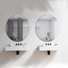 Espelho de Banheiro Belle Redondo 60x70cm Belle Sensea