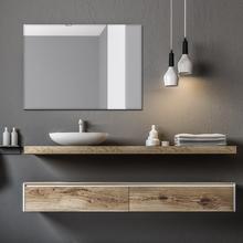 Espelho de Banheiro Clara Retangular 70x50cm Clara Sensea