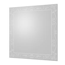 Espelho de Banheiro Colore 50x50cm Quadrado Cris Metal