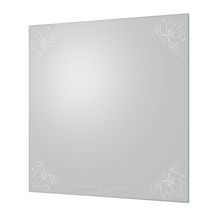 Espelho de Banheiro Colore 60x60cm Quadrado Cris Metal