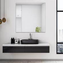Espelho de Banheiro Neutral Magnifique 80x80cm Quadrado Sensea