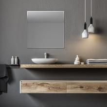 Espelho de Banheiro Quadrado 50x50cm Fiji Sensea