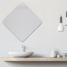 Espelho de Banheiro Folk Quadrado 60x60cm Kimi Sensea