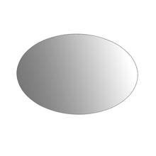 Espelho de Banheiro Redondo 27x38cm Ellipsis Sensea