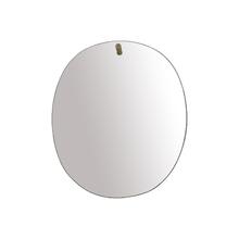 Espelho de Banheiro Redondo 55x45cm Bojudo Epaglass