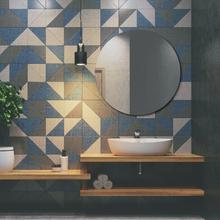 Espelho de Banheiro Redondo 58x58cm Victoria Sensea