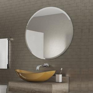 Espelho De Banheiro Comfort Zone Redondo 70x70cm Sphere Sensea