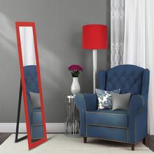 Espelho de Chão Color Vermelho 41x155cm
