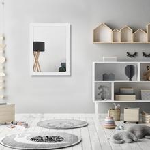 Espelho Decorativo Clássico com Moldura Branca 34x44,5cm