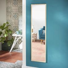 Espelho Decorativo Milo Carvalho 30x120cm Inspire
