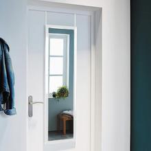 Espelho Decorativo Porta Branco 31x125cm Inspire