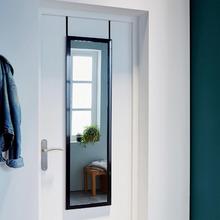Espelho Decorativo Porta Preto 31x125cm Inspire