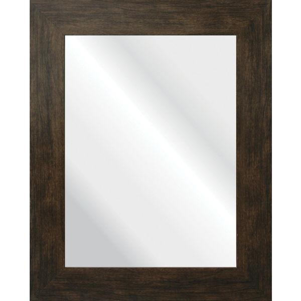 Espelho retangular cl ssico com moldura marrom 40x50cm - Molduras leroy merlin ...