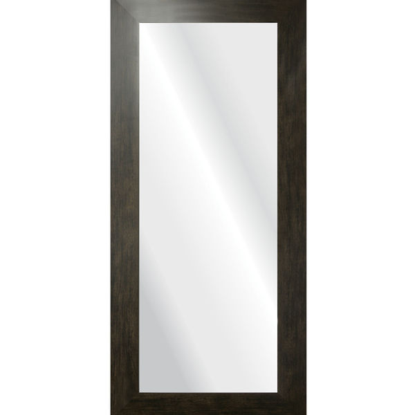 Espelho retangular cl ssico com moldura marrom 40x90cm - Molduras leroy merlin ...