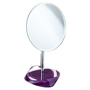 Espelho para Balcão Mesa Redondo Soft Roxo