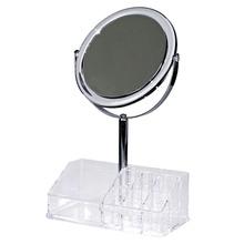 Espelho para Balcão Plástico Prata 28,8x17,3x1,2cm Importado