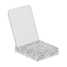 Espelho para Bancada Cinza Pedra Terrazo Sensea