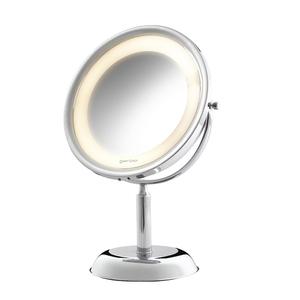 Espelho para Bancada com lente de aumento Royale Lux 32x22x14,5cm com Iluminação
