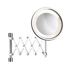 Espelho para Parede com lente de aumento Flex Lux 35x26x56,5 com Iluminação