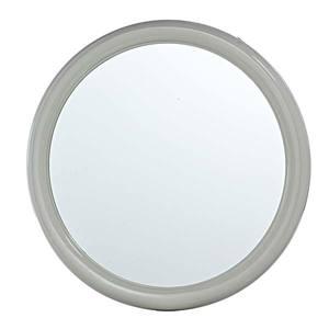 Espelho Redondo Marfim 50cm Parede Primafer