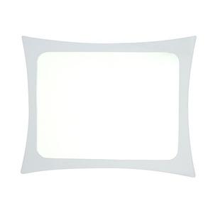 Espelho Retangular 100x80cm Parede Sicmol