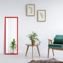 Espelho Vermelho 43x114cm
