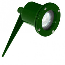Espeto para Jardim LED Metal Técnica Redondo Metal Verde 8W Bivolt
