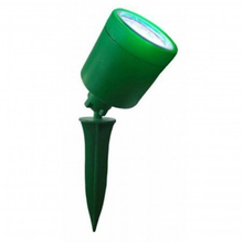 Espeto Solar LED Key West Redondo Metal e Plástico Verde 2W Bivolt