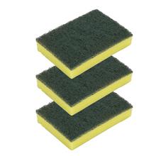 Esponja Multiuso Verde, Amarelo 3 Unidades Limppano