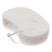 Esponja para Corpo Celulose Branca Slow Spa