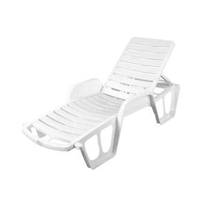 Espreguiçadeira Plástico Conforto Branca