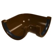 Esquadro de PVC Classic Tubular Aberta com Ângulo 90° Marrom Odem