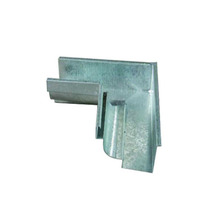 Esquadro Interno Alumínio Calha Natural Calha Forte